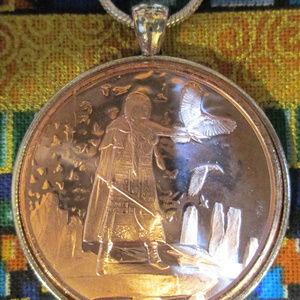 Jewelry - Celtic Lore Morrigan the Queen of Battles Necklace